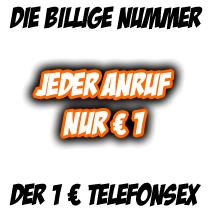 1 € Rufnummer für Telefonsex